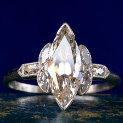 Art Deco Marquise Ring